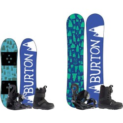 BURTON jr & kid board + boots boa & bindings